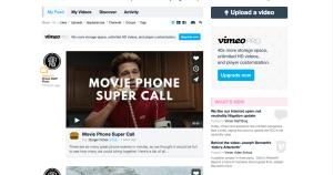 vimeo newsfeed