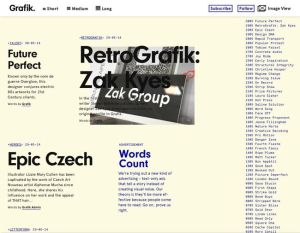 image of grafik.net homepage