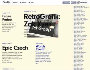 image of grafik.net homepage